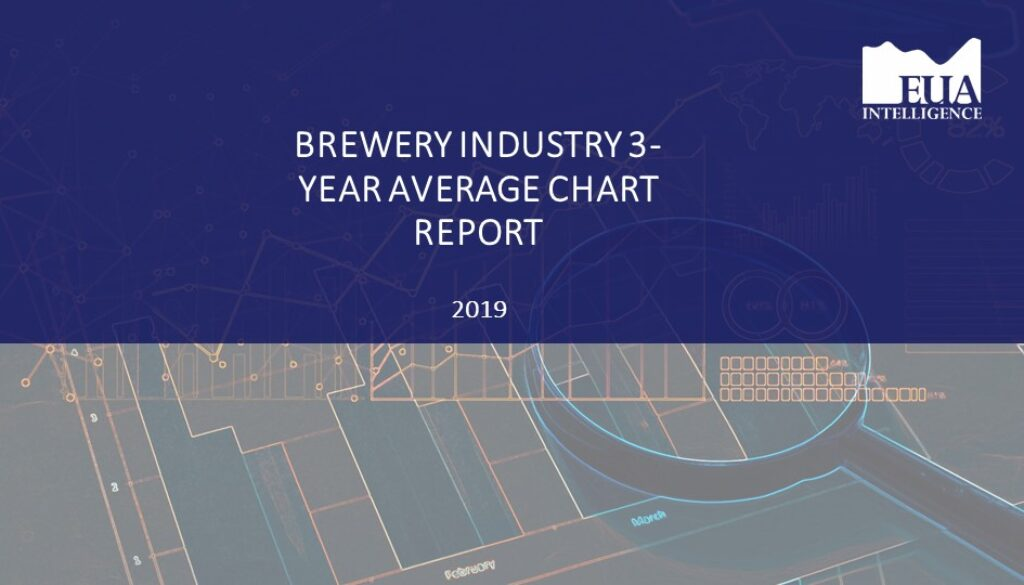 EUA Brewery 3 Yr Industry Average Report 2019