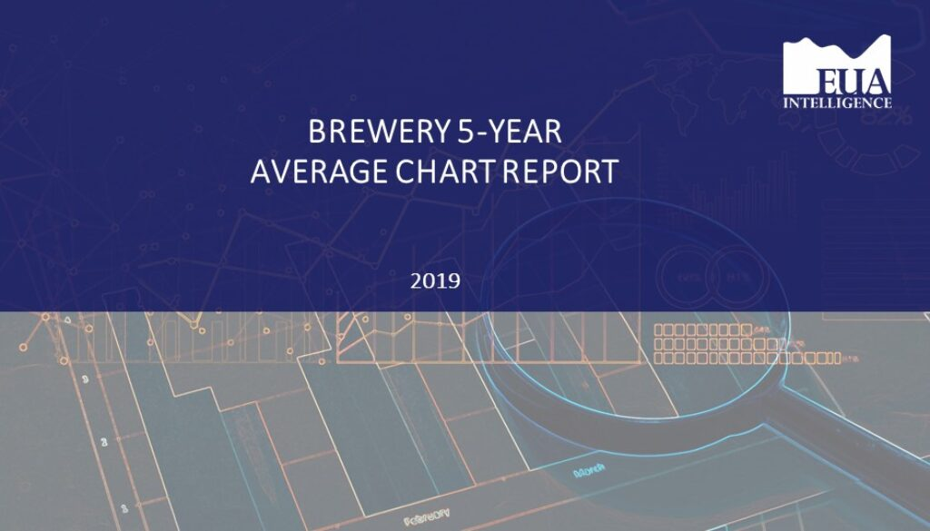 EUA Brewery 5 Yr Industry Average Report 2019
