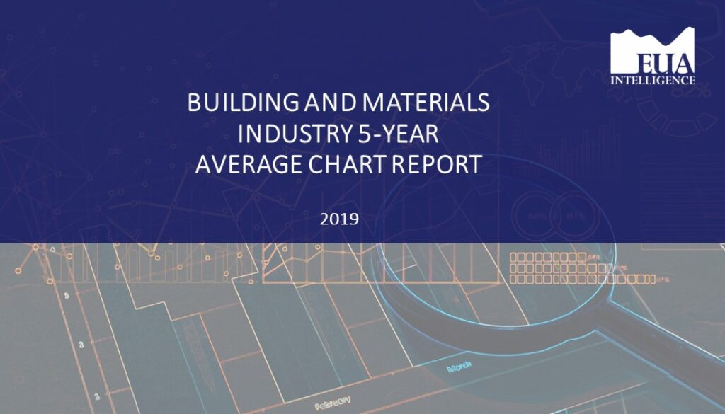EUA Building and Materials 5 Yr Industry Average Report 2019