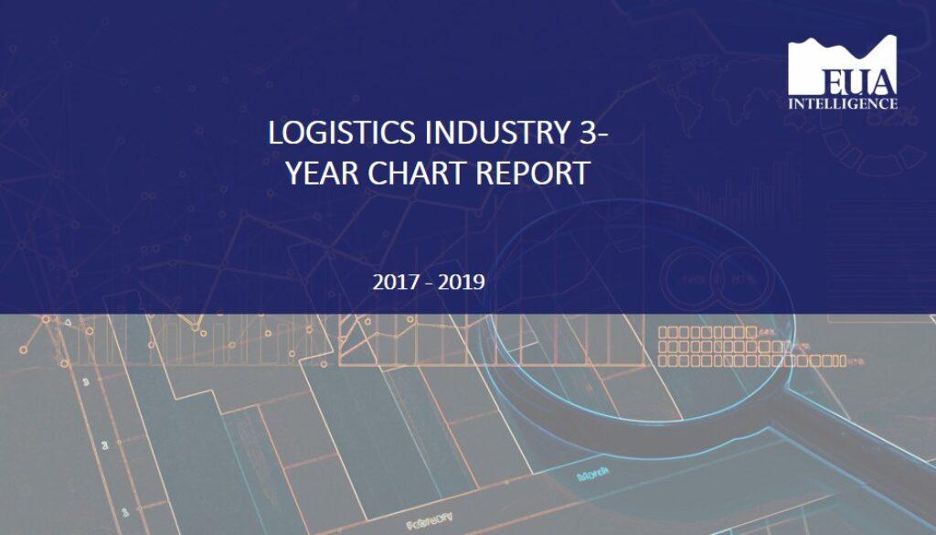 EUA Logistics 3 Year Industry Chart Report 2017 - 2019